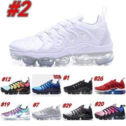 sapatas de basquetebol do onemix Desconto Nike Air TN Plus 2019 Vapors Designers TN Plus Azeitona Em Prata Metálica Sapatos de Prata Dos Homens Sapatos Para Macho Sapato Maxes Pack Triplo Preto Sapatos Casuais