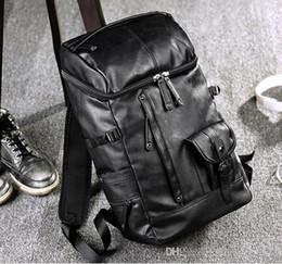 2019 mochila moda marcas Atacado marca mens sacos de moda grande capacidade mochila de couro Britânico retro homens de lazer mochila mochila de couro de viagem ao ar livre desconto mochila moda marcas
