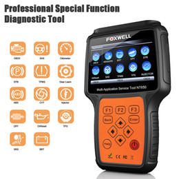 epb scanner Promo Codes - FOXWELL NT650 OBD2 Automotive Scanner ABS Airbag SAS EPB DPF Oil Service Reset OBD 2 ODB2 Car Diagnostic Tool Auto obd2 Scanner