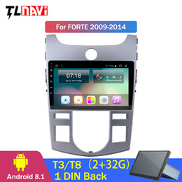 2G RAM 32G ROM 9 polegadas IPS 2.5D android Radio 8.1 DVD do carro para KIA Forte 2009-2014 Navegação GPS do carro dvd de