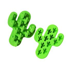 Stampi di casa online-Diy Cactus Cake Modello Silicone Facile da usare Eco Friendly Stampo da forno Home Kitchen Stampi divertenti al cioccolato 2 9xwd1