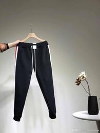67596116f6b7 2019 wei fashion Дизайнерские брюки Wei хлопок мужские повседневные  спортивные штаны красный стандарт моды гарем брюки