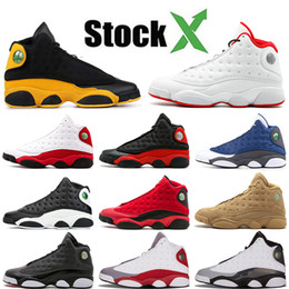 2019 sapatas novas do asics Nike Air Jordan Retro 13 13 13s Jumpman Meninos da Juventude Basquetebol Favorita Shoes Classe OFF Barons DMP Branco Designer de luxo Sneakers Homens 7-13