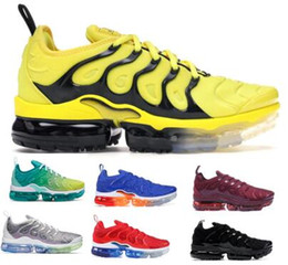 air sneakers max Coupons - Designers Tns Plus Trainers Running Shoes Sneakers 2019 Tning Maxes Neon Airing Bumblebee Olympic Chaussures Requin Mens Womens Femme Shoes