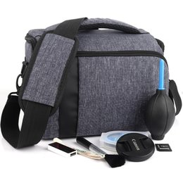 Водонепроницаемая сумка для фотокамеры с зеркальной фотокамерой для Pentax KP K-S2 K-S1 K-1 K-3 K-5 II IIs K-7 K-30 K-50 K-70 K-500 Чехол для объектива на плечо cheap pentax k lens от Поставщики объектив pentax k