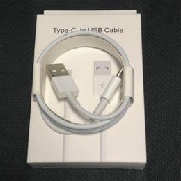 Canada Charge rapide 1M 3FT 2M 6ft Câble téléphonique type C Câble de synchronisation pour Samsung Note 8 S8 S9 Plus HTC LG Câble de chargeur Android i6 / 7/8 cheap phone chargers cords Offre