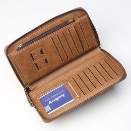 2019 mobiltelefone für unternehmen Herrenbrieftasche Männer und Frauen Business Casual Multi-Funktions-Clutch-Bag-Mode mit großer Kapazität Reißverschluss Multi-Card-Handytasche günstig mobiltelefone für unternehmen