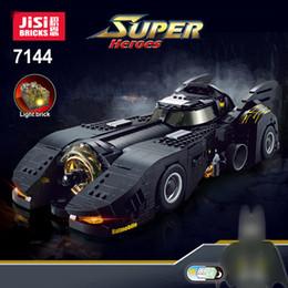 Auto da corsa per i bambini online-Technic 7144 MOC-15506 Race Car Il Tumbler pipistrello Joker Super Heroes Auto Building Blocks Mattoni per bambini Giocattoli Regali di Natale
