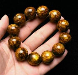 Perle bracciale in salice cinese dorato nero con corallo di mare 20 mm da grandi perline blu fornitori