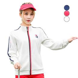 Golf Jackets Women Autumn Winter Women PGM Golf Jackets Long Sleeve Jerseys Outdoor Sportswear Windbreaker Sport от