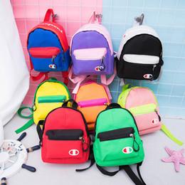 mochila mochila para crianças Desconto Campeão Marca Designer Mochilas Lona Pai-filho Backpack Crianças Mochila Unisex Bolsa de Ombro Mochila de Viagem Ao Ar Livre Mochila Packsack C72507
