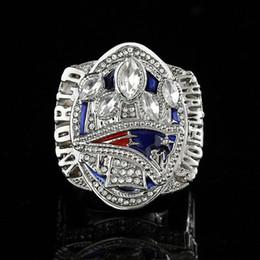 Silberamerikanische männer diamantringe online-2017 american football meisterschaft ringe versilbert diamant männer meisterschaft ring für fans sammeln souvenirs herren schmuck ringe