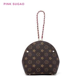 Цветок маленький сумка на плечо онлайн-Розовый Sugao плеча небольшой мешок женщины crossbody сумка оболочки сумки дизайнер цветок печатных кошелек новая мода клатч искусственная кожа сумки на ремне