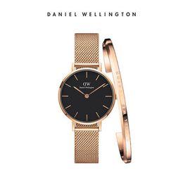Горячие женские роскошные часы из розового золота из нержавеющей стали 40MM циферблат женские кварцевые часы и браслет ювелирных изделий и оригинальная коробка подарка от Поставщики часы из нержавеющей стали