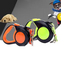 2019 прогулка по продукту 3/5/8M Retractable Dog Leash Nylon Extending Walking Traction Rope Belt Reflective Automatic Running Leash Tape for Pet Products дешево прогулка по продукту