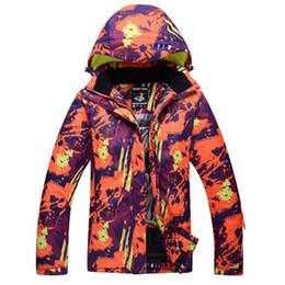 manteau de ski de neige d'hiver Promotion ELOS-ARCTIC QUEEN Ski Vestes Femmes Et Hommes Ski Snow Vestes Hiver En Plein Air Sportswear Snowboard Veste Chaud Respirant