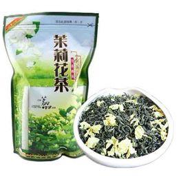 2019 chá emagrecimento china Preferências 250g chinês Jasmine Organic Tea Chá Verde Raw Nova Primavera Chá saudável Green Food Sealing embalagem tira