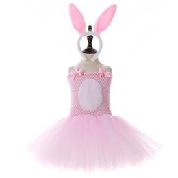 Nouveau Pâques lapin tutu filles robes fête d'anniversaire fête robes princesse + enfants bandeau enfants vêtements de créateurs filles robe robe de princesse A4542 ? partir de fabricateur
