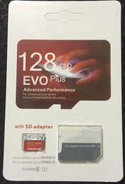 Canada 2019 EVO 100% REA h2testw 8GB 16GB 32GB 64GB 128GB NOUVEAU Carte mémoire SDHC UHC-I Class 10 de EVO Plus authentique Offre