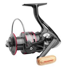 2019 spogliarelli spogliarono HB1000-6000 Pesca Spinning Wheel bobine Spinner richiamo rotella Vessel fuso di esca Volare pesca a traina Trascinare Bass Tackle spogliarelli spogliarono economici