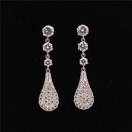 candelabros clásicos Rebajas La moda cuelga los pendientes para la boda de cristal araña mujeres diseño clásico diseñador de joyas pendientes Stud envío gratis