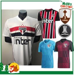 2019 Brasil Sao Paulo camisetas de fútbol calidad tailandesa camisetas para el hogar 19 20 camisetas de Brasil Sao Paulo camisetas de fútbol desde fabricantes