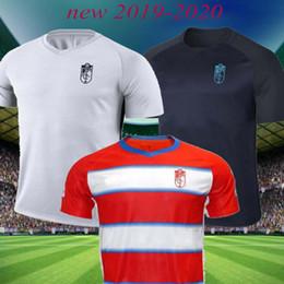 chaqueta de ozil Rebajas 19 20 Granada CF. El fútbol casero Jersey de distancia RAMOS VICTORDIAZ SOLDADO PUERTAS 2019 2020 Granada fútbol jerseys