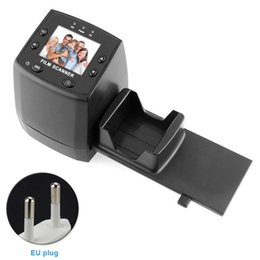 Фильмы онлайн-EC717 2.4inch LCD Display Quick Mini Film Scanner High Resolution Tool Image Viewer Negative Films Converter Movie Slide Editing