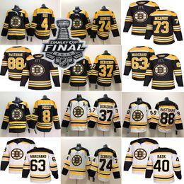 Argentina Boston Bruins 4 Bobby Orr 74 Jake DeBrusk 37 Patrice Bergeron 40 Rask 63 Brad Marchand 88 David Pastrnak Jersey supplier boston bruins jersey brad marchand Suministro