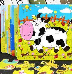 2019 montessori giocattoli anno vecchio Puzzle tridimensionale per bambini puzzle in legno puzzle per bambini in legno per bambini prodotto di educazione precoce non è divertente per esercitare hands-o