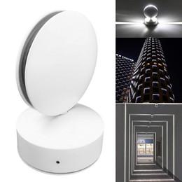 Proje bina dış duvar lambası duvar aydınlatma yüzeye monte led su geçirmez duvar lambası Pencere astar ışık 360 derece AC 85-265 V nereden