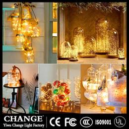 8 funciones a prueba de agua caja de la batería cable de cobre cadena control remoto luces LED luces intermitentes banquete de boda día de Navidad luces de decoración desde fabricantes