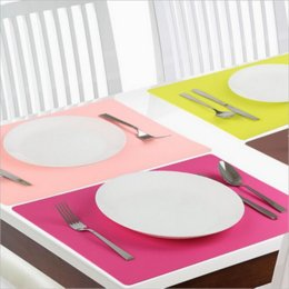 2019 il tovagliolo della tabella dell'uncinetto progetta all'ingrosso Aspire Addensare Tappetino da tavolo flessibile extra-large in silicone impermeabile antiscivolo