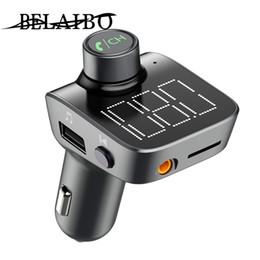 modems lte 4g desbloqueados Desconto kit T15 sem fios Bluetooth 5.0 FM carro transmissor mãos-livres eletrônico acessórios do carro aux MP3 player dupla USB de carregamento rápido