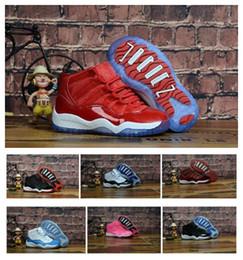 Baby Kids 11 11s Обувь Bred Concord Space Jam Розовый Тренажерный Зал Red Legend Blue 11 Обувь Кроссовки Подарок Для Мальчиков Девочек С Коробкой от