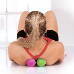Palla di trigger point online-Fitness Relieve Gym Palla singola Fitness Alleviare Gym Trigger point Massage Ball Training Fascia Hockey Ball
