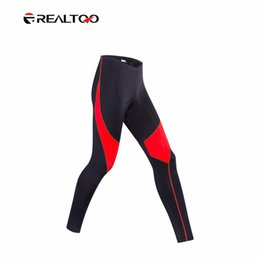 REALTOO Men Soft Thin Bike Bicicletta Pantaloni lunghi Quick Dry High Elasticity Pantaloncini da ciclista Bike Profession Bike Shorts da bicicletta morbida fornitori