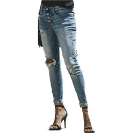 f6941b9863 Leggeri Jeans Strappati Di Lavaggio Online | Il Leggero Lavare Ha ...
