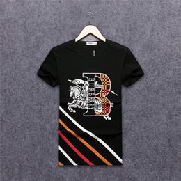 a69d1a79cd Nuovo design 3D di arrivo nel 2019 T-shirt da uomo in cotone di alta  qualità alla moda T-shirt da uomo da uomo T-shirt da uomo BB6632