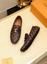 italienische freizeitschuhe Rabatt 19ss Hohe Qualität Europäischen Schuh Männer Dressing Schuhe Herren Italienische Kleid Schuhe Designer Männer Schuhe Gedruckt Original Box Freizeitschuh