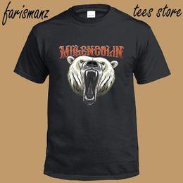 logo banda punk rock Rebajas Nuevo Millencolin * Bear Logo Punk Rock Band Hombres camiseta negra Tamaño S a 3XL Divertido envío gratis Unisex Casual camiseta
