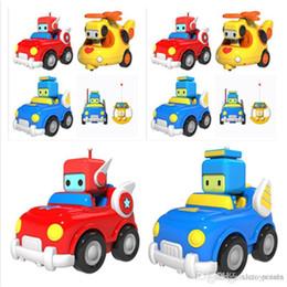 construir carros rc Desconto Carros de RC Mini Dos Desenhos Animados Astronauta Carro de Corrida de Controle Remoto Blocos de Construção de Música Luz Crianças Brinquedo Educativo Presente de Natal Para Crianças Do Bebê
