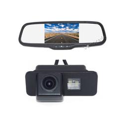 Sensor ford mondeo on-line-Retrovisor Do Carro de Estacionamento Reverso Câmera de Backup + Monitor de Espelho para FORD Focus / S-MBX / Mondeo / Fiesta