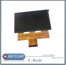 Pollici dello schermo dell'affissione a cristalli liquidi per la tavoletta online-5,8 pollici Nuovo originale C058GWW1-0 1280 (RGB) * 768 DISPLAY LCD Pannello schermo per Excelvan cl720 CL720D Pannello LCD del proiettore