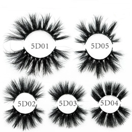 1ffb474d3eb dramatic false lashes Coupons - 2019 New 25mm 3D Mink Eyelashes Extra  Length Thick 5D Mink