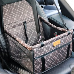 coperta pieghevole impermeabile Sconti Mesh Hanging Bags doppio spessore di viaggio Accessori pieghevole Pet Supplies impermeabile cane stuoia della copertura domestico di sicurezza della sede di automobile Bag