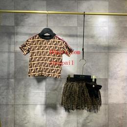 Mädchenrock für jungen online-Baby Mädchen Jungen 2 Stück Set Kinder Baumwolle T-Shirts und Spitze Röcke Jungen T-Shirt und kurze Hosen A-K62