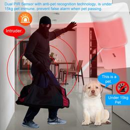 Kablolu Anti-Pet PIR Hareket Sensörü Çift Kızılötesi Dedektör Ev Hırsız Güvenlik Alarm Sistemi Için Pet Bağışıklık Uyarıları nereden