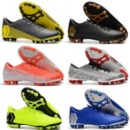 Mujeres y futbol online-XII Mercurial Mens Academy AG CR7 12 Bajo Ronaldo Neymar AG-R Mujer Niños Fútbol Niños Fútbol Zapatos