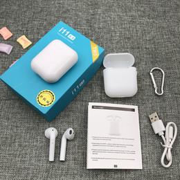 2019 auricolari dacom I11 Tws auricolari Bluetooth Mini Auricolare Touch Control con ricarica caso per Smart cellulari PK I12 I18 I13 I10 Max cuffie